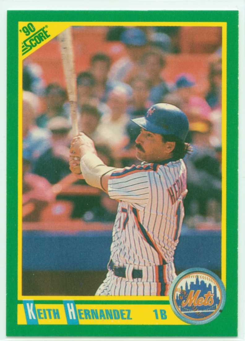 Keith Hernandez 1990 Score 30 Year Old Cardboard