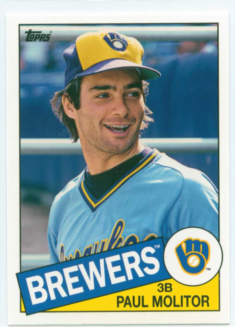 Paul Molitor 2013 Topps Archives 1985 Topps Design 30