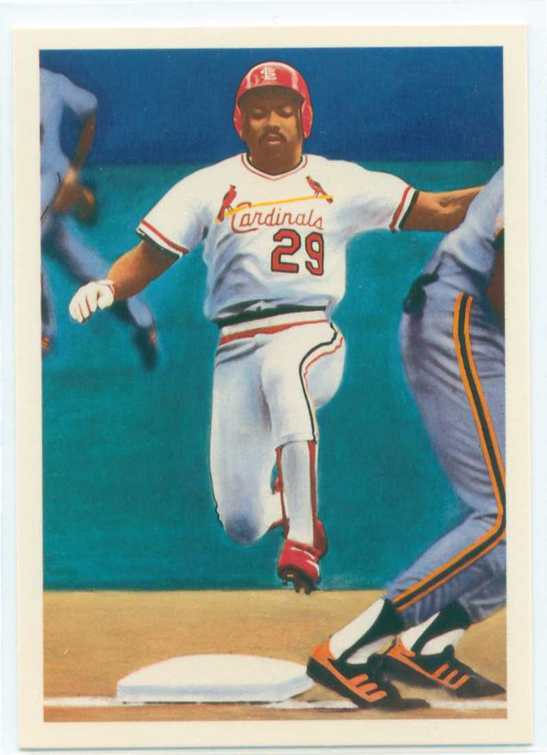 Vince Coleman 1989 Score Scoremasters 30 Year Old Cardboard