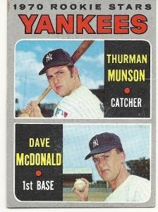 Munson rookie
