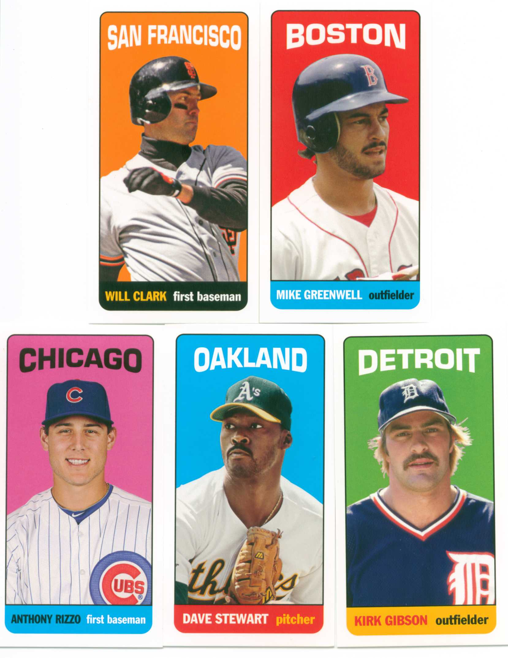 Baseball Card Show Purchase 8 Lot Of Five 2013 Topps Archives