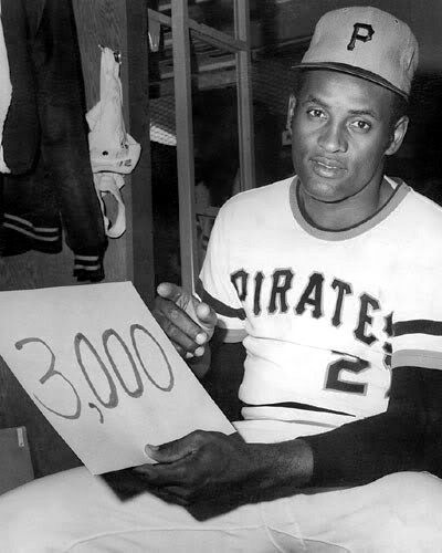 Image result for clemente # 3,000 images