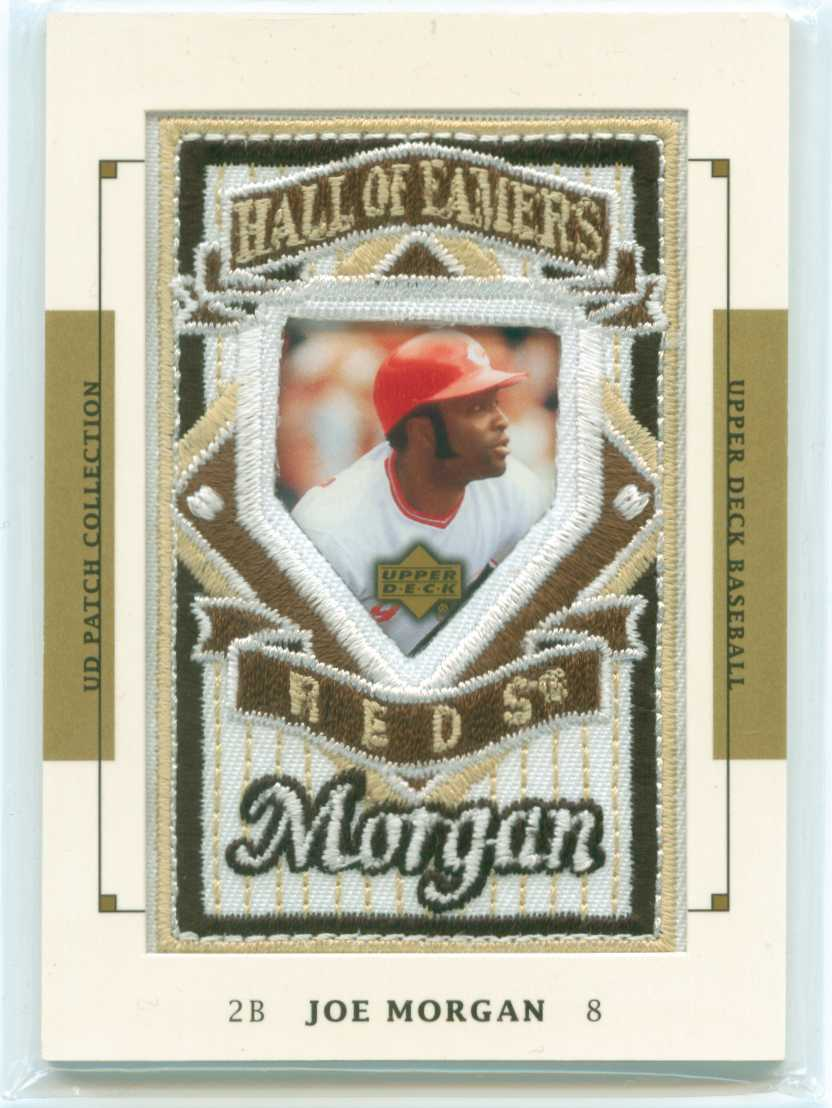Baseball Card Show Purchase 8 Joe Morgan 2003 Upper Deck