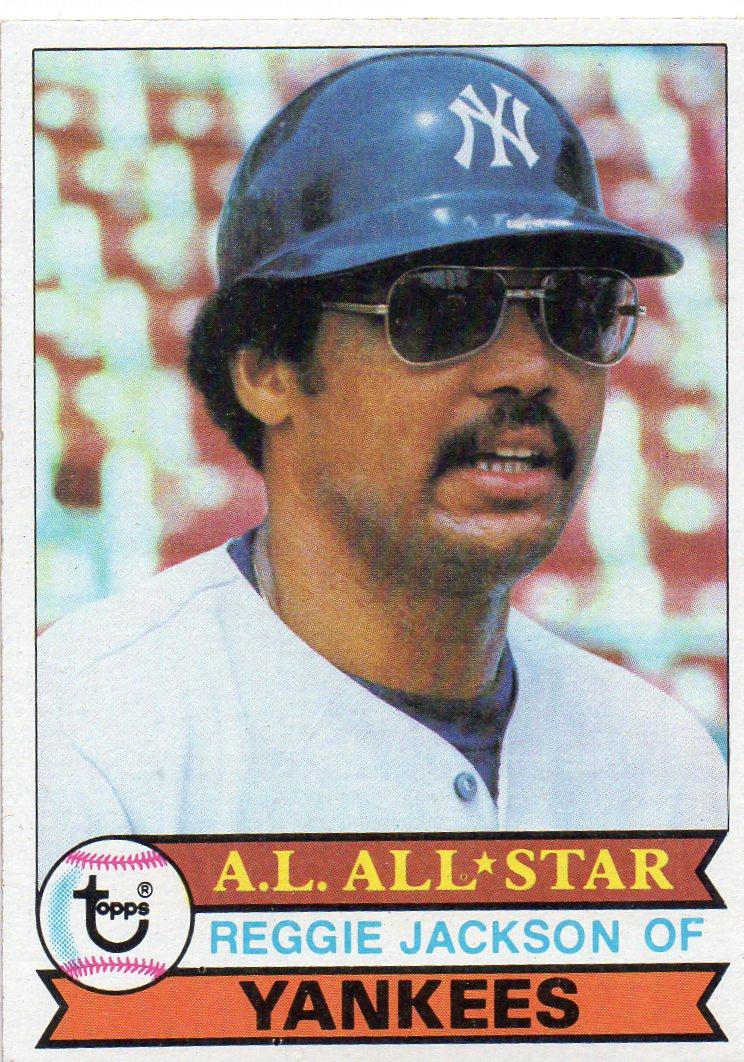 Reggie Jackson 1979 Topps Baseball Card 30 Year Old Cardboard