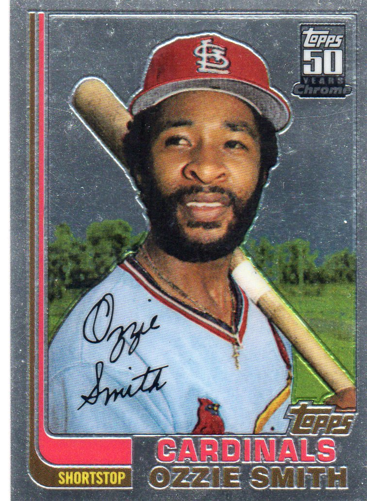 Baseball Card Show Purchase 2 Ozzie Smith 2001 Topps 50