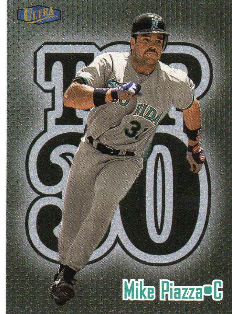 Another Mike Piazza Marlins Card For My Collection 1998 Fleer