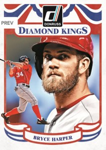 Bryce Harper 2014 Diamond King