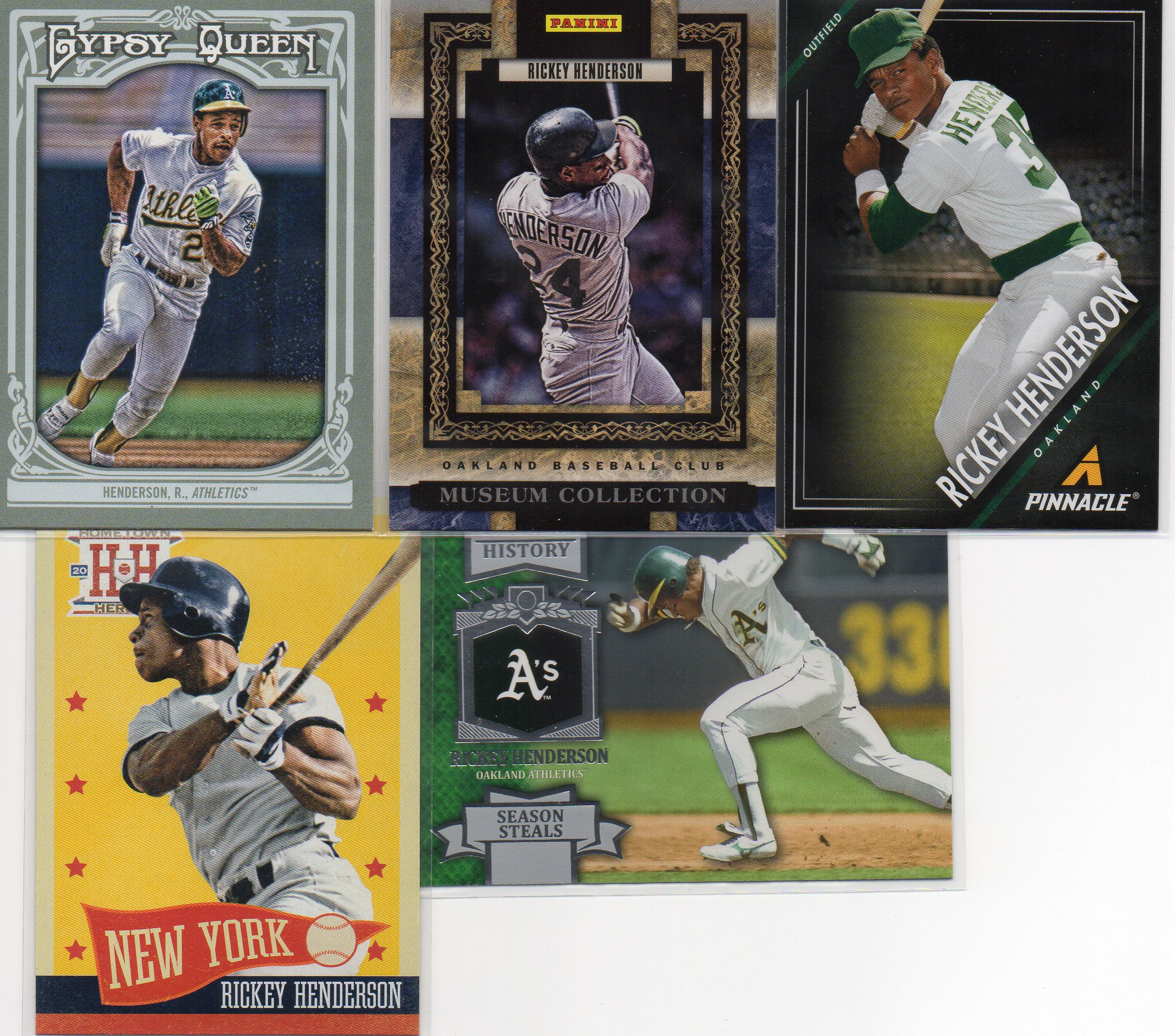 Baseball Card Show Purchase 5 Lot Of 5 Sweet Modern