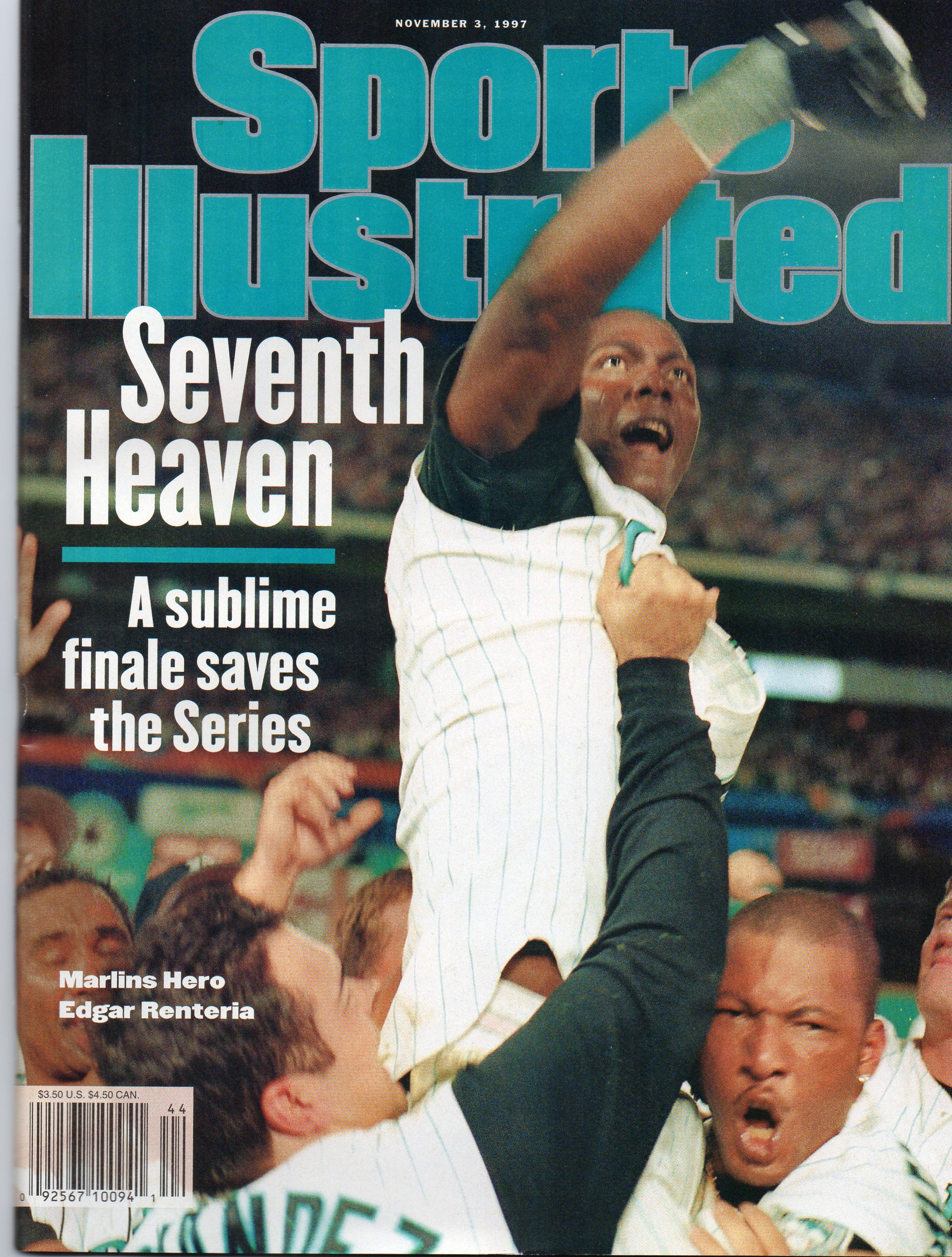 Baseball Card Show Purchase 8 Sports Illustrated 1997