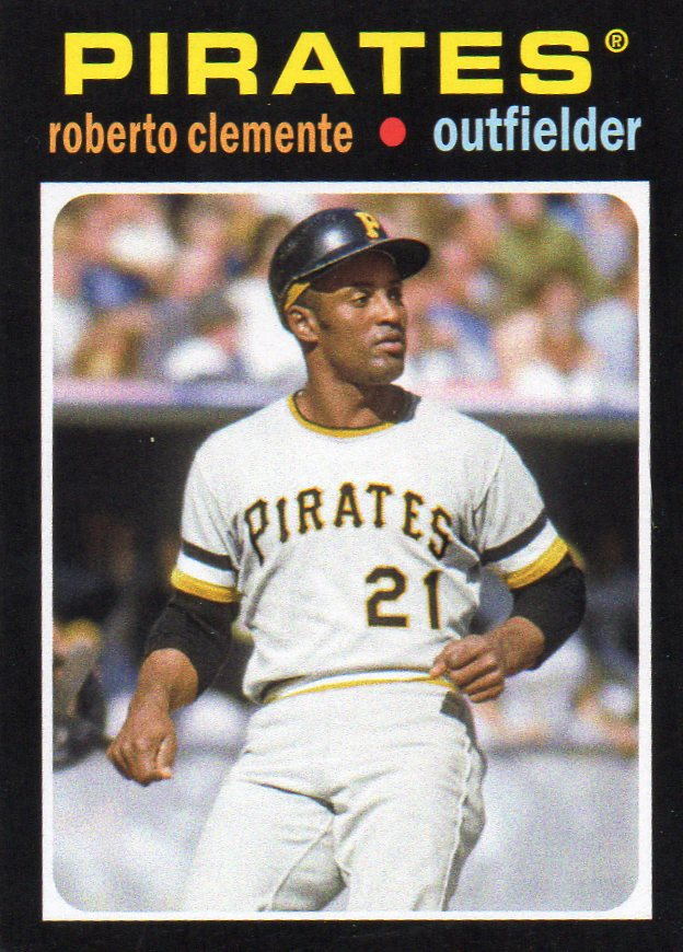 Roberto Clemente 2013 Topps Update 1971 Mini 30 Year Old