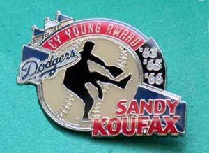 Koufax pin