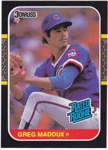 maddux 1987 rated rookie