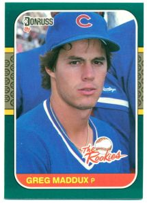 maddux 1987 the rookies