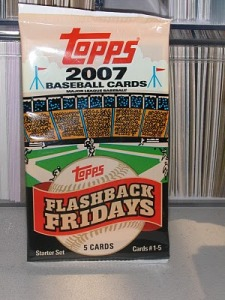 topps flashback friday pack