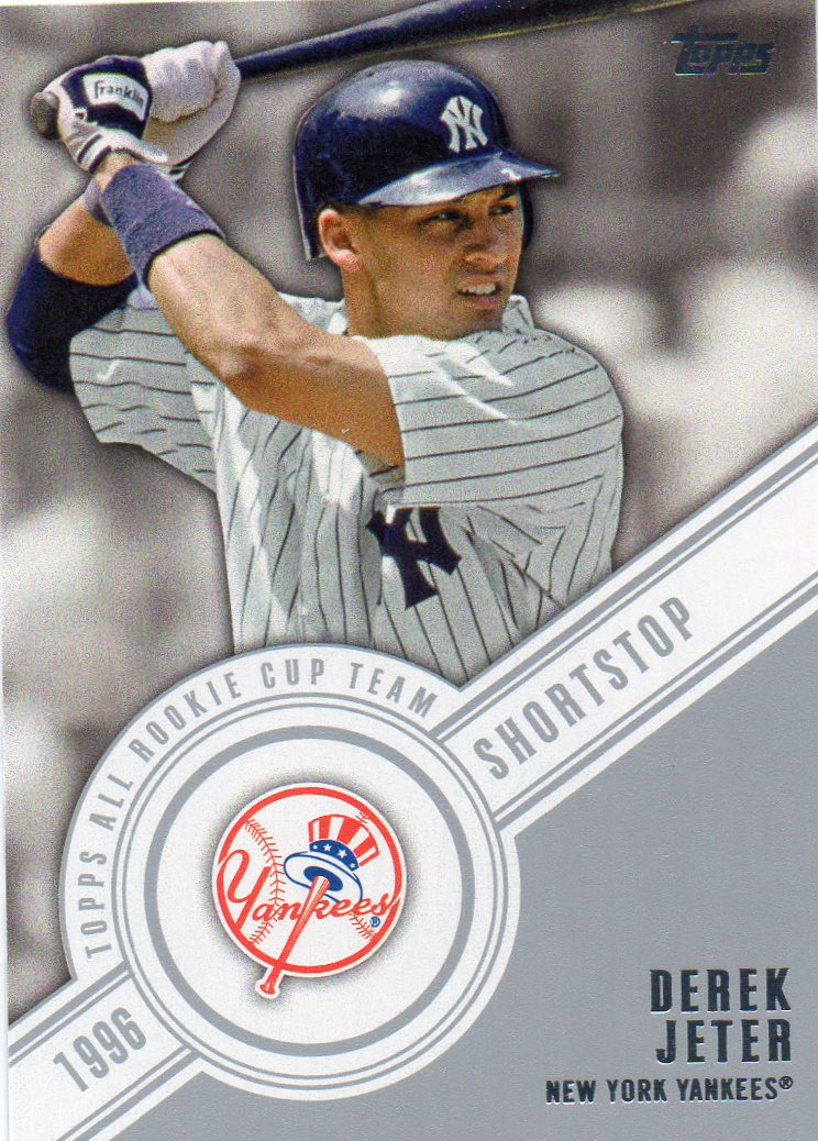 Derek Jeter 2014 Topps All Rookie Cup Team 30 Year Old Cardboard