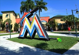 Marlins logo spring training