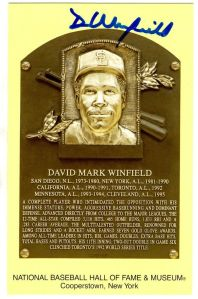 Winfield Plaque