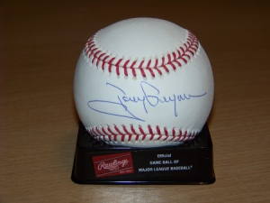 Gwynn signed ball