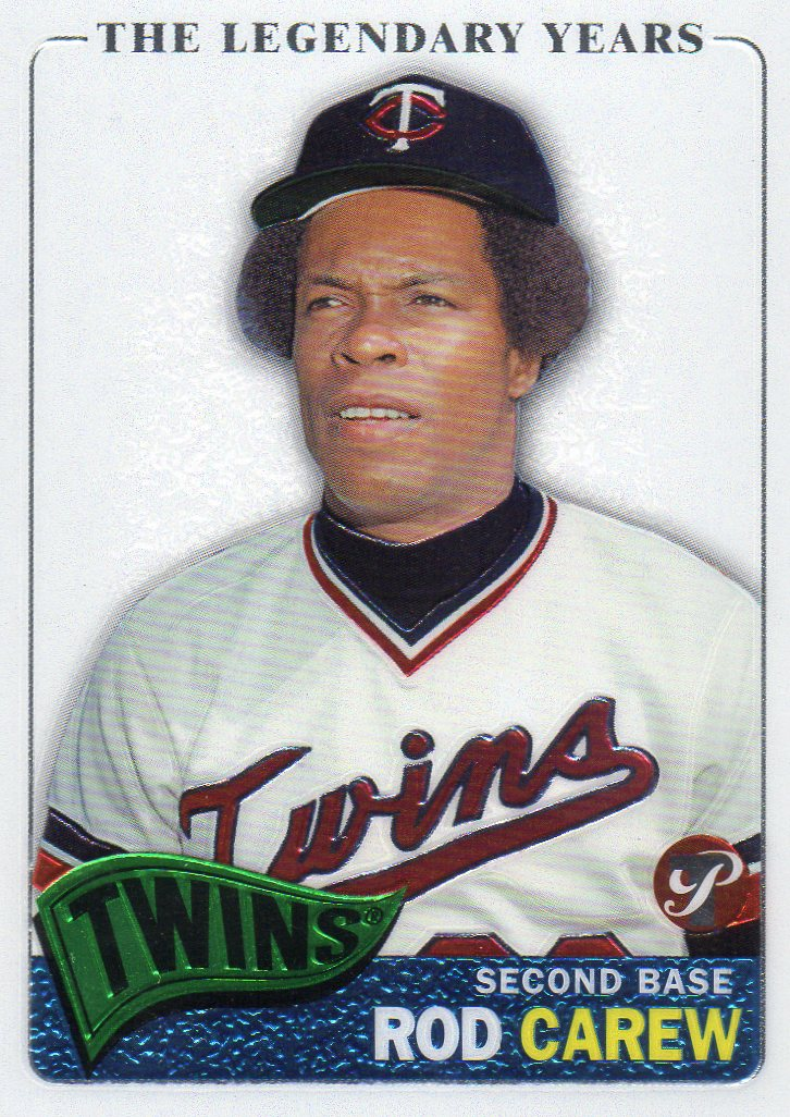 Rod Carew Collection 30 Year Old Cardboard