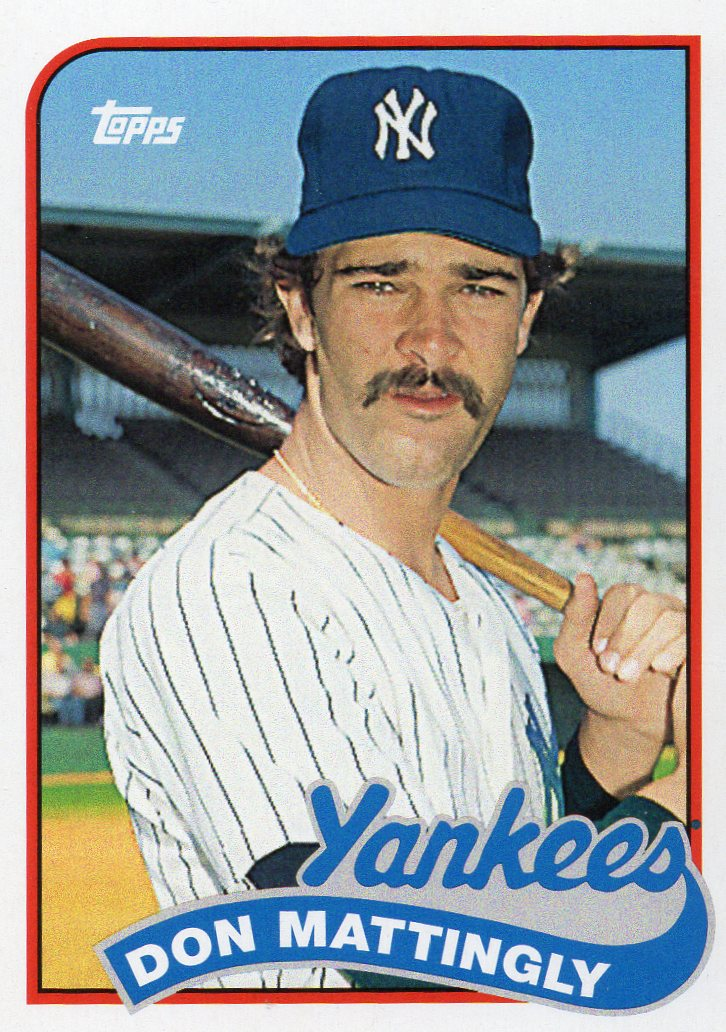 Don Mattingly 30 Year Old Cardboard