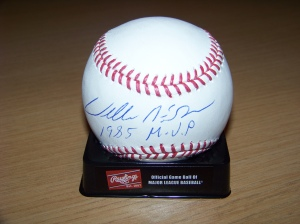 WILLIE MCGEE MVP BALL