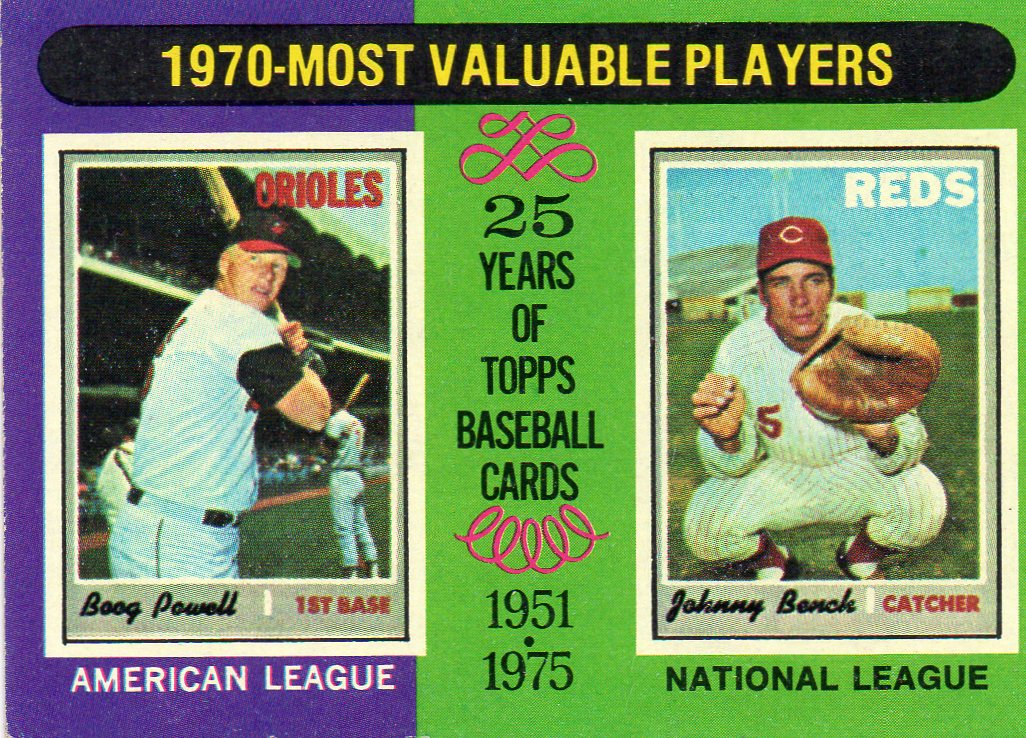 1975 Topps Baseball Card Set 30 Year Old Cardboard