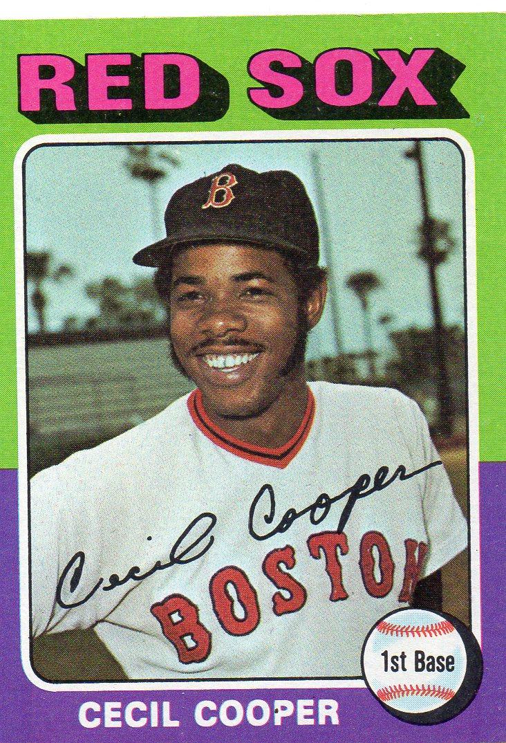 1975 Topps Baseball Card Set 30 Year Old Cardboard