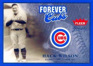 hack wilson cubs